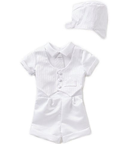 c76f91f9a14ab Edgehill Collection Baby Boys Newborn-24 Months 3-Piece Vest Set