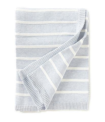 Edgehill Collection Baby Boys Striped Blanket