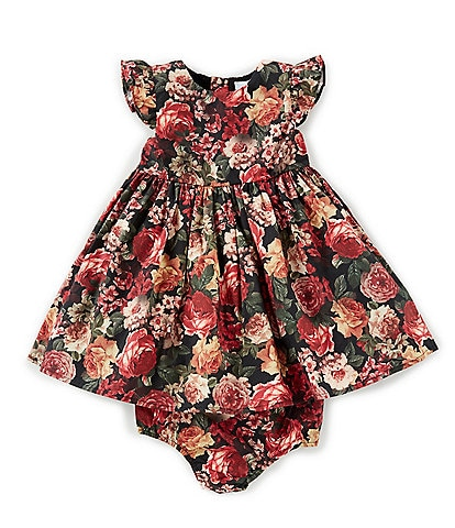 Edgehill Collection Baby Girls 12-24 Months Mommy & Me Catania Floral Print Dress