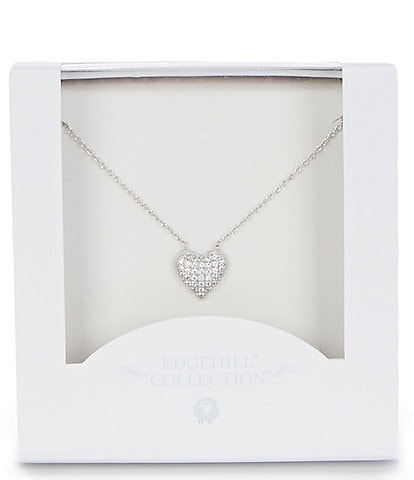 Edgehill Collection Baby Girls Heart Necklace