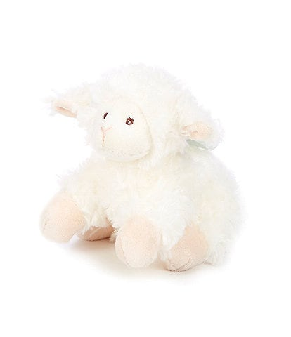 Edgehill Collection 5#double; Baby Lamb Plush Rattle