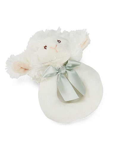 Edgehill Collection Baby Lamb Ring Rattle