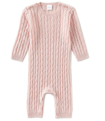 Edgehill Collection Baby Newborn-12 Months Long Sleeve Cashmere Coverall