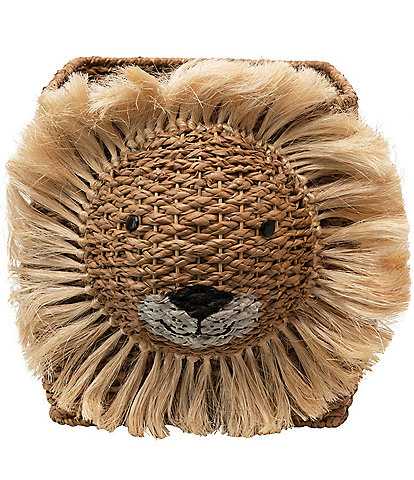 Edgehill Collection Hand-Woven Bankuan Lion Basket