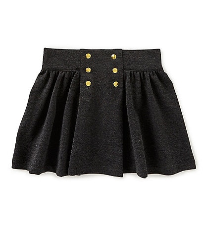 Edgehill Collection Little Girls 2T-6X Ponte Skirt