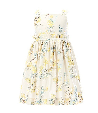 Edgehill Collection Mommy & Me Little Girls 2T-6X Floral A-Line Dress