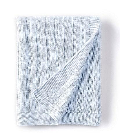 Edgehill Collection Stripe Knit Baby Blanket