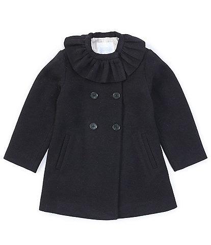 Edgehill Collection Toddler Girl's 2T-6X Platter Collar Coat