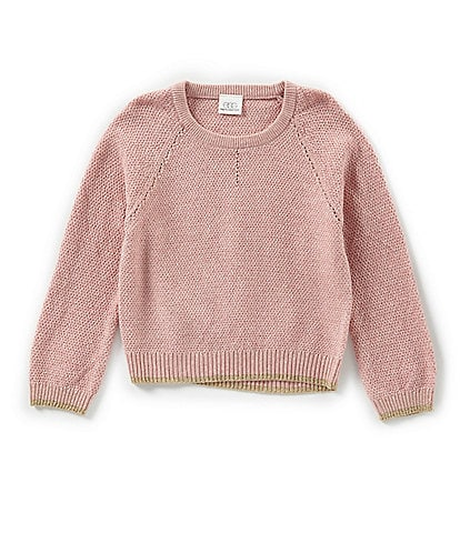 Egg by Susan Lazar Little Girls 2T-4T Abigail Rose Sweater