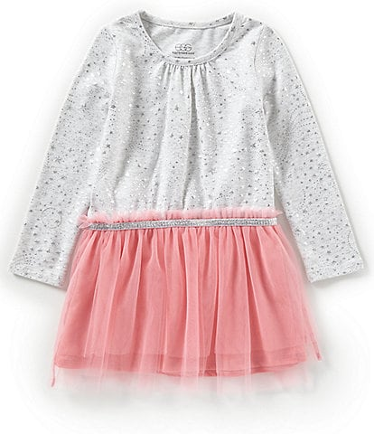 Egg by Susan Lazar Little Girls 2T-4T Amy Metallic Print Tulle Dress