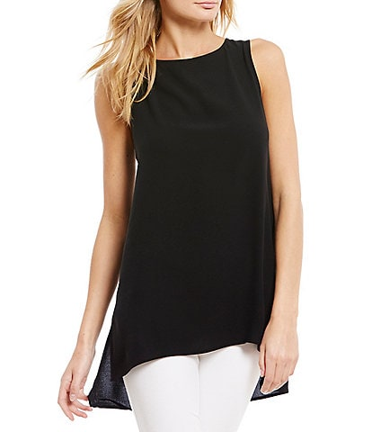 Eileen Fisher Petite Silk Shell