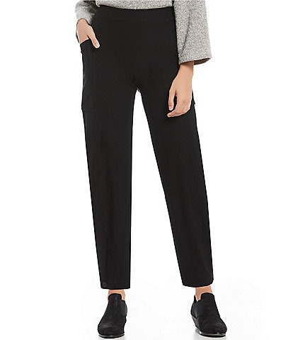 Eileen Fisher Petite Size Pull-On Ankle Pants