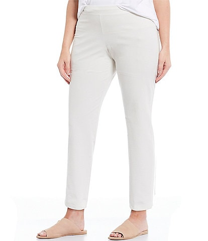 Eileen Fisher Plus Size Skinny Ankle Pant