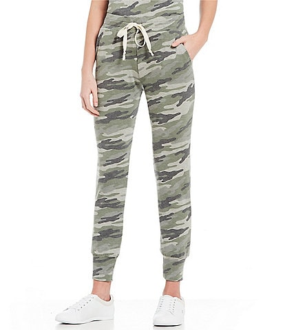 ELAN Pull-On Camo Print Jogger Pants