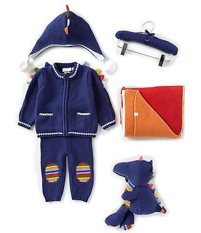 Elegant Baby Baby Boys Newborn-18 Months Bright Dino 5-Piece Gift Set