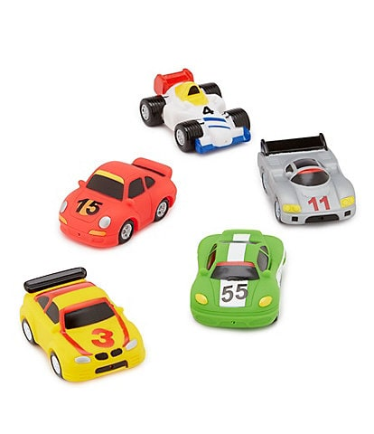 Elegant Baby Baby Boys Race Car Bathtub Squirties