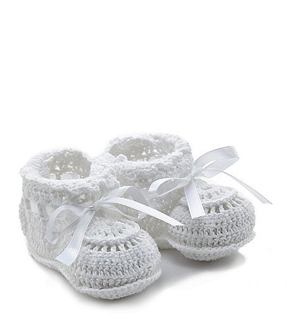 Elegant Baby Crochet Booties Infant