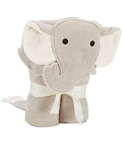 Elegant Baby Elephant Hooded Bath Towel