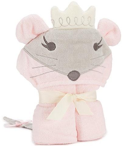 Elegant Baby Girls Mouse Hooded Bath Towel