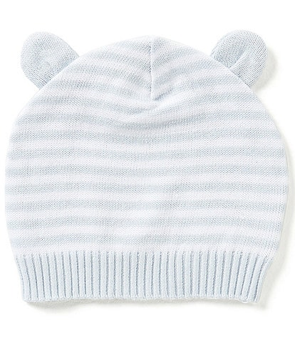 Elegant Baby 3-12 Months Striped Knit Hat
