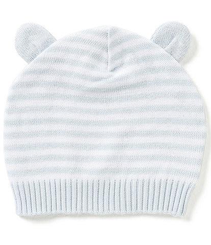 Elegant Baby Baby 3-12 Months Striped Knit Hat