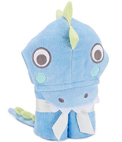 Elegant Baby Sea Serpent Hooded Bath Towel