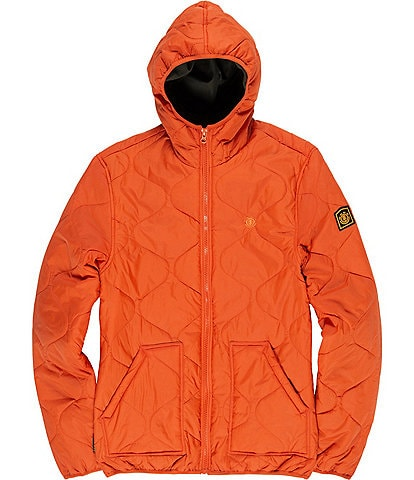 Element Albee Long-Sleeve Hooded Lightweight Quilted Jacket