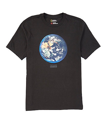 Element National Geographic Earth Short-Sleeve Organic Cotton Graphic T-Shirt