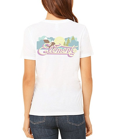 Element Morning Short Sleeve Logo Graphic Tee