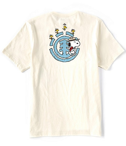 Element The Peanuts Snoopy Emerge Graphic Short-Sleeve T-shirt