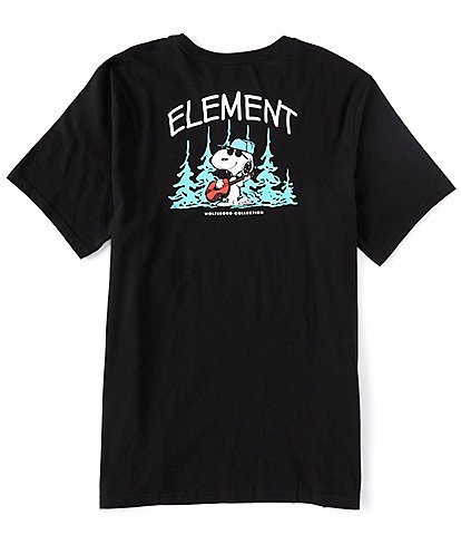 Element The Peanuts Snoopy Good Times Graphic Short-Sleeve T-Shirt