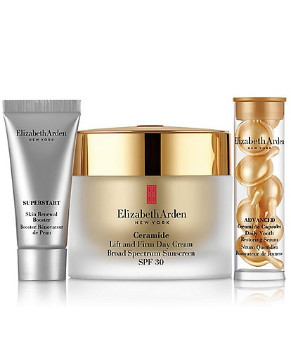 Elizabeth Arden Ceramide Lift and Firm Day Cream SPF 30 Skincare Gift Set