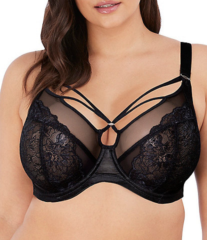 Elomi Brianna Full-Busted Contour Wire U-Back Cage Plunge Bra