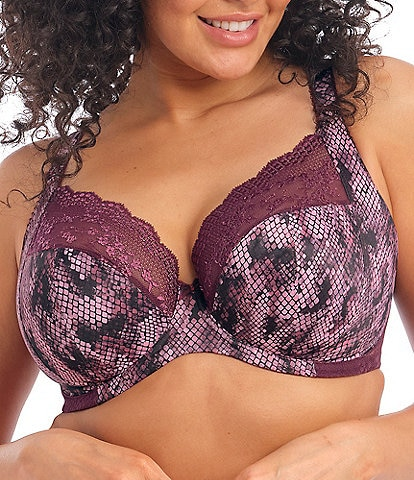 Elomi Lucie Full-Busted Underwire Stretch Plunge Bra