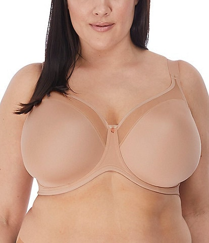Elomi Smooth Non-Padded Full-Busted Molded U-Back Underwire T-Shirt Bra