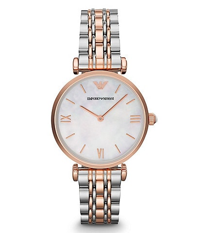 Emporio Armani Gia Two Tone Bracelet Watch