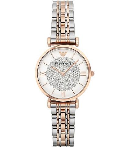 Emporio Armani Gia Two Tone Bracelet Watch