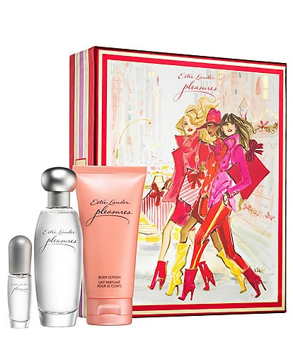 Estee Lauder Pleasures Favorites Trio Gift Set
