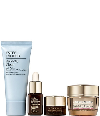 Estee Lauder Power Nap Facial Repair and Rehydrate 4 Steps to More Youthful Looking Skin Gift Set