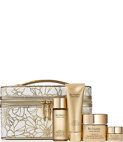 Estee Lauder Re-Nutriv Ultimate Lift Regenerating Youth Collection 5 Piece Gift Set