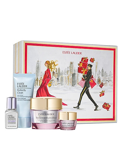 Estee Lauder Resilience Multi-Effect Lift and Glow Skincare Collection Set