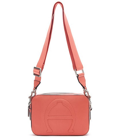 Etienne Aigner Adeline Signature Mini Camera Crossbody