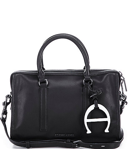 Etienne Aigner Hailey Large Barrel Satchel Bag