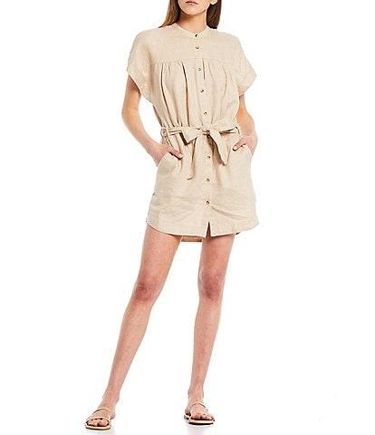 Every Button Front Shirt Dress