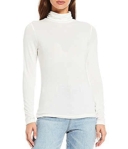 Every Long Sleeve Turtleneck Knit Top