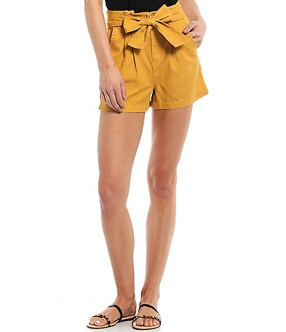 Every Paper Bag High Waisted Belted Short