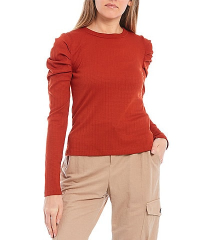 Evolutionary Knit Puff Sleeve Top