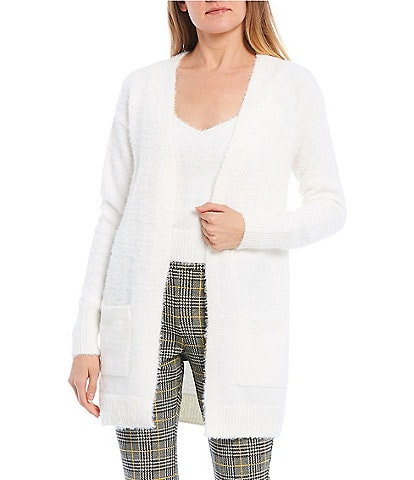 Evolutionary Long-Sleeve Two-fer Cardigan Set