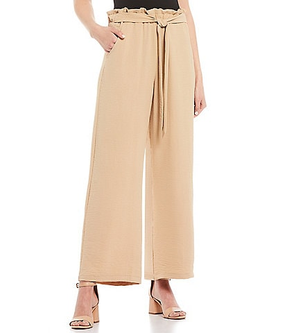 Evolutionary Paperbag Waist Wide Leg Pants
