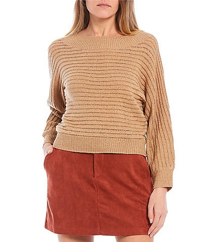 Evolutionary Ribbed Knit Top